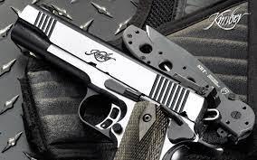 pistols, guns, weapons, M1911, kimber ...