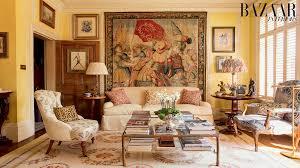 Interior Design Wall Photos At Home With Alidad Iranian British Interior Design Legend