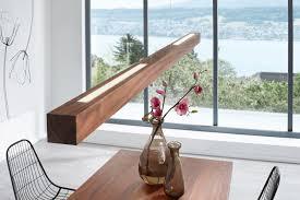Esstischlampe Holz