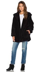 rattlesnake faux fur jacket