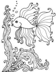 Small Picture Coloring Pages Aquarium Tropical Fish