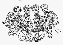 Small Picture Free Bratz Coloring Pages 2016