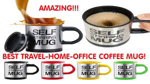 office coffee cups. Automatic Self Stirring, Coffee Mug, Tea For Travel, Office, Home Office Cups