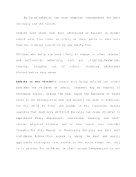types of bullying essay   hastn get the new resumebullying thesis