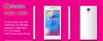 Qmobile Noir A500 Quad Core 3G mobile ...