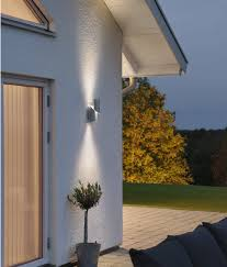 high powered led exterior up down wall light