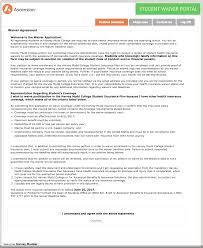health insurance waiver form template