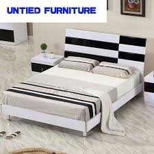 Black modern bedroom sets Trendy White And Black Modern Beds Hot Selling Simple Bed For Bedroom Furniture Bedroom Set Aliexpress White And Black Modern Beds Hot Selling Simple Bed For Bedroom