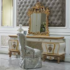 Yb67 French Baroque Design Bedroom Furniture Antique White Bedroom ...