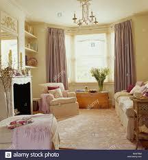 Mauve Living Room Cream Textured Carpet In Cream Living Room With Pale Mauve Silk