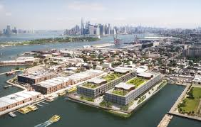 norman foster office. red hook residents want more say in development of norman foster office complex curbed ny