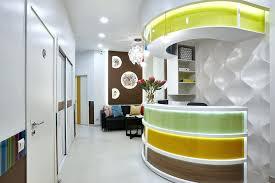 dental office interior design. Modren Office Dental Office Interior Design 3 Bright Multicolored Doctors Dentists  Clinic Intended Dental Office Interior Design