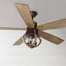 44 Industrial Rustic Indoor Outdoor Ceiling Fan Shades of Light