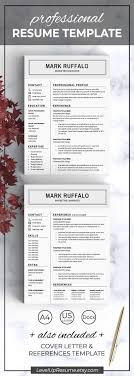 Resume Link Clean And Minimal Resume Template Professional Resume Design 15