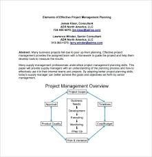 Project Management Plan Template Free Download Project Management Plan Contents Template Outline Path Free Border