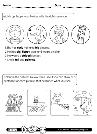 Fraser the Eraser - can you describe things? | English: Worksheets ...