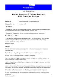 Personnel Management Job Description Director Hns Job Description