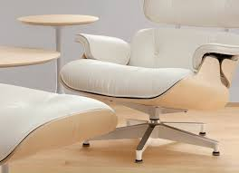 hermanmiller eames lounge chair ottoman white ash the century house madison wi