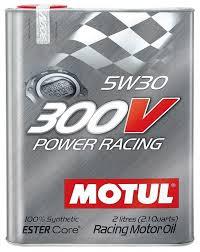 <b>Моторное масло Motul 300V</b> Power Racing 5W30 2 л — купить по ...