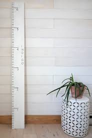 Growth Ruler Diy Inspired By Pottery Barn Gina Michele