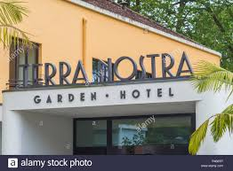 portugal azores sao miguel island furnas terra nostra garden hotel art deco style hotel built in the 1930s exterior