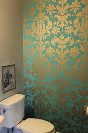 Silver Wallpaper Bedroom Teal And Silver Damask Wallpaper Two Years Later And I Still Love