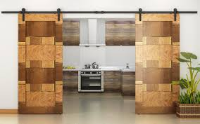 Barn Door For Kitchen Architectural Accents Sliding Barn Doors For The Home