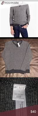 J Crew Sweater Size Chart J Crew Lambs Wool Sweater Nwt Color Gray Charcoal Please