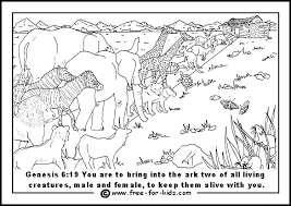Small Picture Noahs Ark Coloring Page Free Background Coloring Noahs Ark
