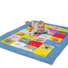 buy baby soft manipulative patchwork large playmat  tts