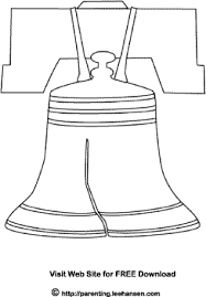 Small Picture Liberty Bell Coloring Page USA Patriotic July 4th Picture to Color