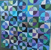 Drunkards Path Quilt Pattern Magnificent Hobbysew Blog Blog Archive Drunkard's Path Quilt