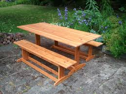 6ft trestle picnic table adirondack chairs seattle redmond bellevue issaquah