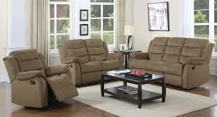 Reclining Living Room Sets Rodman Reclining Living Room Set Tan Coaster Furniture