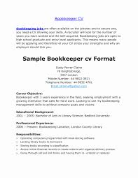 Bookkeeping Resume Examples Bookkeeping Resume Samples Lovely Fullarge Bookkeeper Resume Sample 9