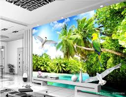 Hd outdoor backgrounds Night 3d Room Wallpaper Custom Photo Mural Outdoor Beach Coconut Tree Scenery Background Painting Picture 3d Wall Murals Wallpaper For Walls Hd Wallpaper In Dhgatecom 3d Room Wallpaper Custom Photo Mural Outdoor Beach Coconut Tree