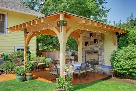 75 Beautiful Patio With A Fire Pit And A Gazebo Pictures Ideas April 2021 Houzz