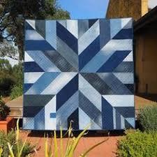 Blue Giant quilt pattern – star block modern quilt pattern made ... & Blue Giant quilt pattern – star block modern quilt pattern made from  recycled/upcycled blue denim jeans Adamdwight.com