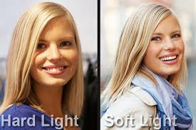 Image result for Hard light vs soft light. What's the difference and how do you do it