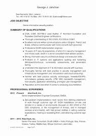 Resume Examples For Hotel Jobs Best Of Security Guard Resume