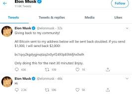 Twitter posts, which have since been deleted, were fired off from an array of high profile accounts telling users of the social media platform they had 30 minutes to send $1,000 (€876) in bitcoin. Bitcoin Twitter Hack Targets Accounts Of Bill Gates Elon Musk Kanye West Apple And Uber Manchester Evening News