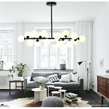 luxury chandelier creative or brief glass ball chandelier creative art gold black chandelier hotel living room fresh chandelier creative