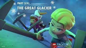 Lego Frozen Northern Lights 2016 Lego Disney Frozen Northern Lights Part 3 4 The Great Glacier Disney