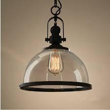 pendant lamp loft restaurant bar american vintage retro industrial regarding glass light ideas 13