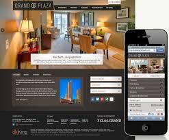apartment website design. Grand Plaza Website Design Apartment I