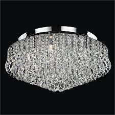 crystal flush mount chandelier. Crystal Flush Mount Light - Ceiling Lights | Prestige 604 By GLOW Lighting Chandelier