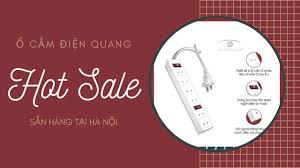 Ổ cắm Điện Quang giá rẻ sẵn hàng ở Hà Nội, loại 2 chấu 6 lỗ cắm - YouTube