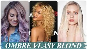 Modern Ombre Na Blond Vlasy 2018 Damske Video