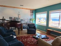 hansville apartment al living room with baby grand piano