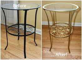 diy ikea brass accent table ikea klingsbo side table review